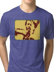 Richie Havens at Woodstock (drawing) Tri-blend T-Shirt