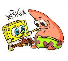 spongebob & patrick Photographic Print
