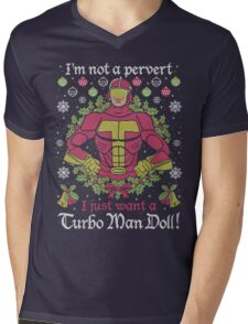 I'm Not A Pervert Mens V-Neck T-Shirt