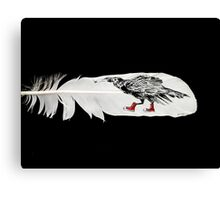 Crow Daddio Canvas Print