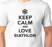 Keep calm and love Biathlon Unisex T-Shirt