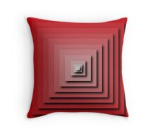 In/Out Optical Pyramid Throw Pillow