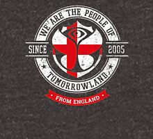 People of Tomorrowland country Flags logo Badge -  England - English - Anglais Unisex T-Shirt