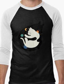 More Hugs Less Fights Men's Baseball ¾ T-Shirt