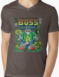The Horrible Boss Mens V-Neck T-Shirt