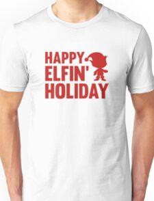Happy Elfin' Holiday Unisex T-Shirt