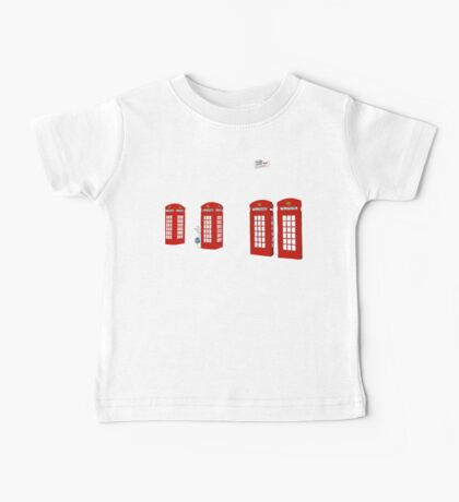 Easter bunny and telephone boxes Baby Tee