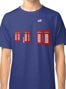 Easter bunny and telephone boxes Classic T-Shirt