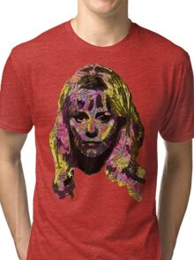 Capable Friend Of The Fifties Film Scream Queen Version Two Tri-blend T-Shirt