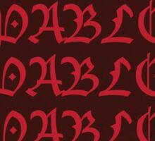 Kanye West Pablo Red Bomber Sticker