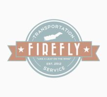 Firefly Transportation Kids Tee