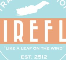 Firefly Transportation Sticker
