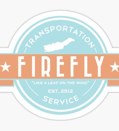 Firefly Transportation Sticker