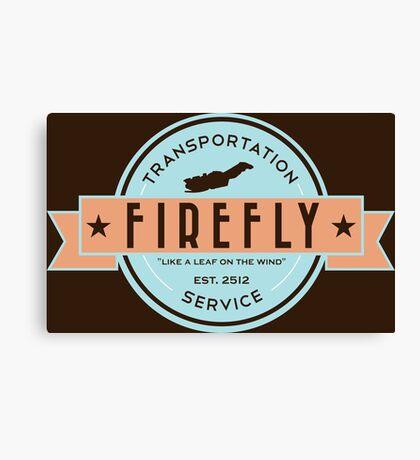 Firefly Transportation Canvas Print