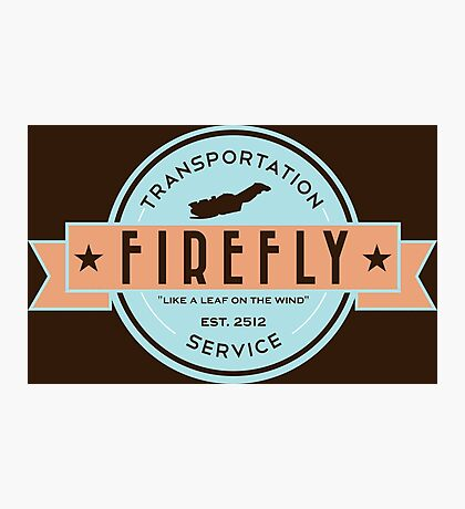 Firefly Transportation Photographic Print