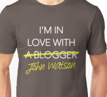 I'm in love with John Watson Unisex T-Shirt