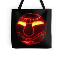 Tiki Jack O'Lantern Tote Bag