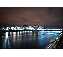 Pacific Quay Long Exposure Photographic Print