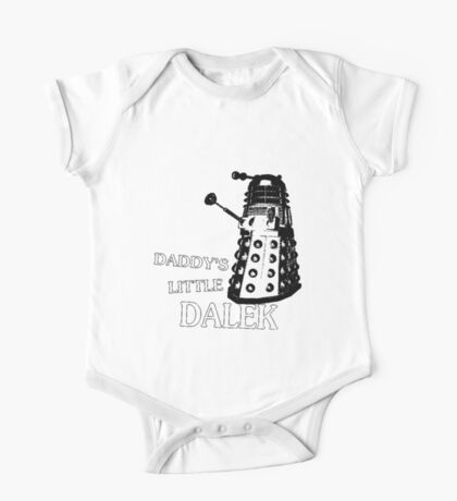 Daddy's Little Dalek One Piece - Short Sleeve