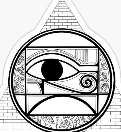 Symbol of Egypt Sticker