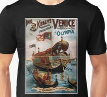 Performing Arts Posters Imre Kiralfys gorgeous production of Venice the bride of the sea at Olympia 1715 Unisex T-Shirt