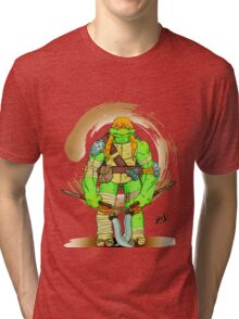 Tmnt michelangelo Tri-blend T-Shirt