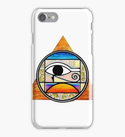 Symbol of Egypt (Colored) iPhone Case/Skin