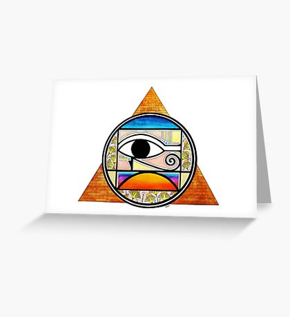 Symbol of Egypt (Colored) Greeting Card