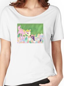 Bambi Pokemon Crossover Women's Relaxed Fit T-Shirt