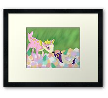 Bambi Pokemon Crossover Framed Print