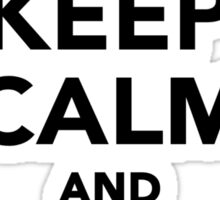 Keep calm and play Poker Sticker