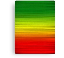 Green Gold Red Canvas Print