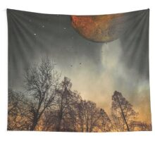 When the Moon was young Wall Tapestry