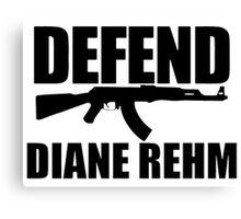 Defend Diane Rehm Canvas Print