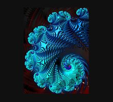 Blue Wave - Fractal Art  Unisex T-Shirt