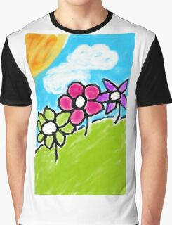 flower painting  Graphic T-Shirt
