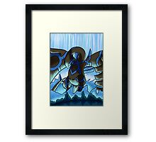 Earthbound Immortal Dark Lugia remake2016 Framed Print