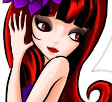gothic doll Sticker