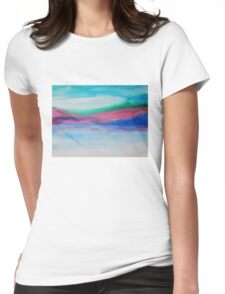 Cairngorn Landscape Womens Fitted T-Shirt