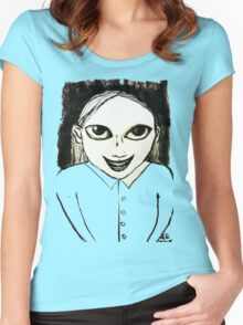 Evil Genius Child Women's Fitted Scoop T-Shirt