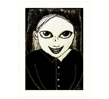 Evil Genius Child Art Print