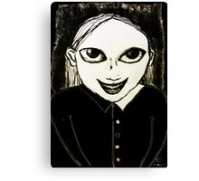Evil Genius Child Canvas Print