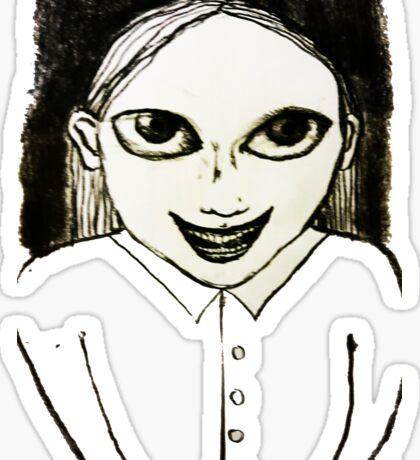 Evil Genius Child Sticker