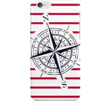 COMPASS WITH STRIPES iPhone Case/Skin
