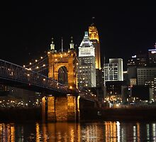 Cincinnati by Night by Cathy Donohoue