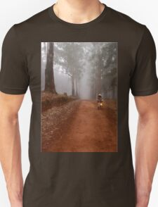 UP CLOSE: THE  BICYCLE MAN AND THE LANTERN Unisex T-Shirt