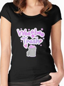 Weeaboo Trash Women's Fitted Scoop T-Shirt