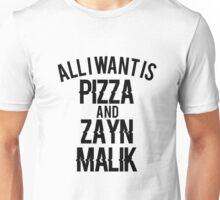 One Direction // Zayn x Pizza Unisex T-Shirt