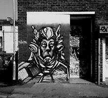 steer art in black and white set 4 by sebmcnulty