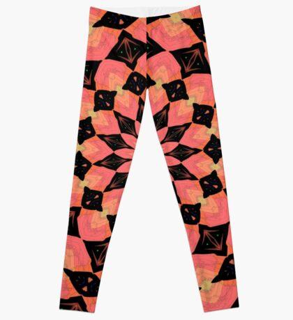 Pink Kaleidoscope Leggings